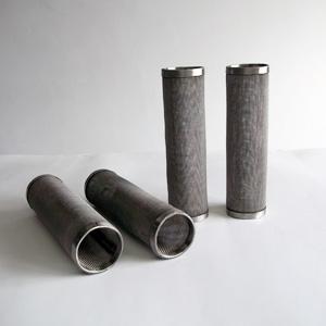 filtros en acero inoxidable