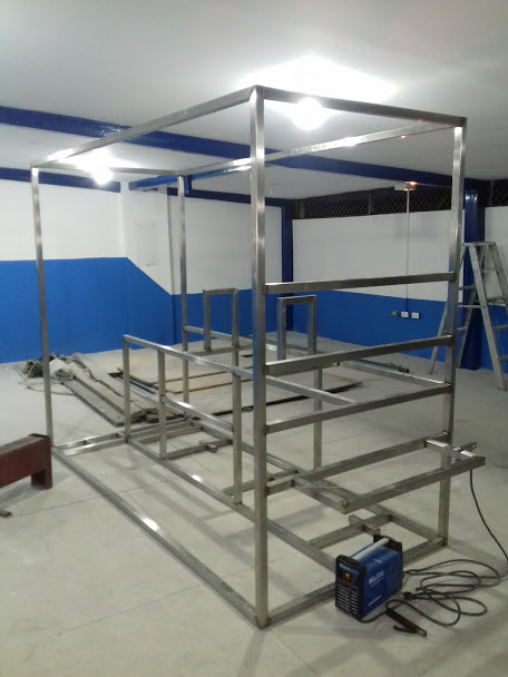 Estructuras para plantas de proceso