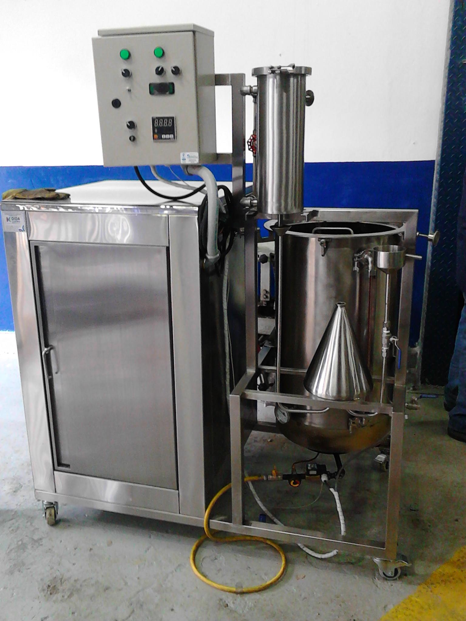 Equipo de destilación