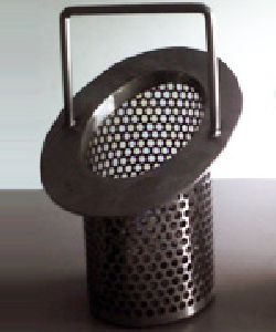 Canastillas en acero filtrante