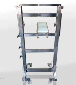 Soporte para detector de metales
